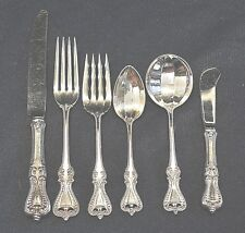 OLD COLONIAL BY TOWLE STERLING FLATWARE SET FOR 4 BY 6 TOTAL 24 PC  SUPER SHAPE