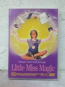Little Miss Magic DVD 1998 Fantasy Comedy Family Kids PG Rated Film