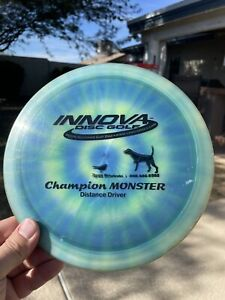Innova Champion Monster 178g Original Mold 7/10 Pearly Flat Amd Firm