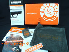 Taurus Pt709 Slim Pistol Cardboard Box, Gun Pouch, Access Pouch and Manual