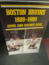 Nhl-1989-90 Boston Bruins Guide And Record Book-Stanley Cup Finals Year