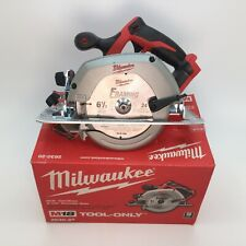 Milwaukee 2630-20 M18 18V Li-Ion Cordless 6-1/2 in. Circular Saw Tool-Only READ