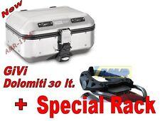 GIVI BAULE TREKKER DOLOMITI DLM30 .+ PIASTRA E212 HONDA XLV 1000 VARADERO 99-06