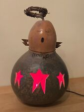 """Meadowbrooke Gourds Light Up 13"""" Angel Christmas Holiday Gourd - Usa"""