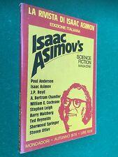 LA RIVISTA DI ISAAC ASIMOV n.3 (1978) SCIENCE FICTION , Anderson Malzberg Leigh