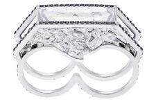 Swarovski  GRANITE DOUBLE RING, WHITE 5267782 Size 55