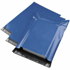 """10/20/50/100/1000 Pack of 6x9"""" Blue Plastic Sealable Mail Bags Delivery Sacks"""