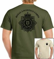 RLC T-Shirt Royal Logistic Corps British Army Military TEE TOP Cap Badge Beret