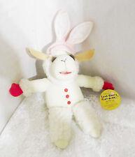 """1992 Shari Lewis Lamb Chop's Play-Along #90100 Lamb Chop Bunny 9"""" with Tag!"""