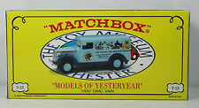 Matchbox Collectibles - YY034-SA - 1937 GMC VAN - THE CHESTER TOY & DOLL MUSEUM