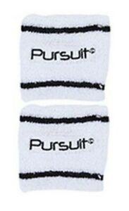 2 x Sports Wrist Sweatbands Unisex Wristband Band Tennis Squash Badminton Gym
