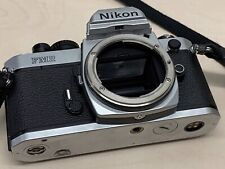 Nikon FM2 35mm SLR Film Camera Body Only (Silver/Black)