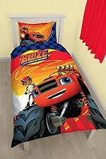 Blaze and The Monster Machines Zoom Single Duvet Set Cover Character World 1435