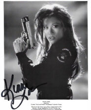 KIANA TOM SIGNED MOVIE 8X10 B&W AUTOGRAPHED UNIVERSAL SOLDIER SONY *FREE SH