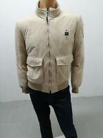 Giubbino BLAUER Uomo Jacket Man Veste Homme Taglia Size L Beige P 8245
