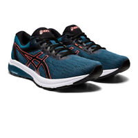 Asics Mens GT-800 Running Shoes Trainers Sneakers Navy Blue Sports Breathable