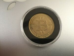 Rare Genuine Unredeemed 2011 Casascius 1BTC Physical Bitcoin with Hologram error