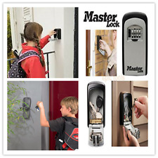 NIB Master Lock Wall Mounted Key Safe Storage Box After School Kid Tradie Hotel