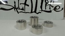 Custom Chopper Harley Wheel Axle Spacer  cnc machined. Your Size. 4 pcs.