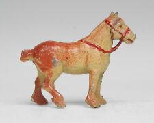 UNUSUAL SMALL SCALE HOLLOWCAST LEAD FARM CART-HORSE: T&B CHERILEA HILL ?