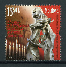 Moldova Military Stamps 2020 MNH WWII WW2 Intl Holocaust Remembrance Day 1v Set