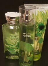 New BBW White Citrus Fragrance Set
