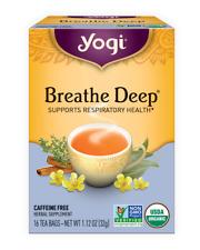 YOGI TEAS Breathe Deep Tea 16 Tea Bags exp.10/30/19