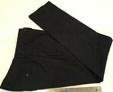 BANANA REPUBLIC Men's Kentfield Pants Size 32 x 34 Regular Fit Flat Front Blue
