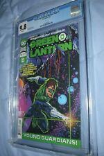 The Green Lantern #1 Season two 2 CGC 9.8 Rebirth Justice League