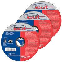 "Ultimate Cut 6/"" x .045 THK x 7//8/"" Arbor Cutting Wheels QTY 25 42 SAIT Type 27"