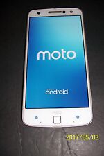 Motorola MOTO Z FORCE ANDROID Smart Phone USED Works Great VERIZON 32 GB White
