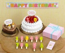 New Sylvanian Families Calico Critters Birthday Christmas Cake Set ka-416 Japan