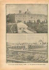 Couvent Mont Carmel Mount Carmel Palestine Saint-Jean-d'Acre Israel 1918 WWI