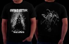 Dying Fetus Curb Stomp Goth Punk Rock Screamo Heavy Death Metal Music Mens Shirt