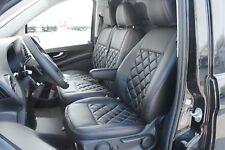 Mercedes Sprinter Viano Citan Vito W447 Passform Autositzbezüge Kunstleder