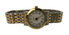 Rare Vintage Raymond Weil Classic Two Tone Swiss Quartz Geneve 25mm Watch