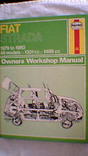 Haynes Owners Workshop Manual - Fiat Strada  1979 - 1980 (1984 Edition)