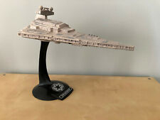 "1997 Star Wars Destroyer Ship w/ Stand Sounds & Lights Hasbro 14.5"" Lucasfilm"