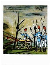 """Bernard BUFFET (1928-1999) - AFFICHE/POSTER """"La Guerre"""" Signée - 80x55cm - NEUVE"""