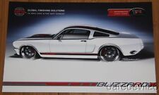 "2013 Ring Brothers GFS ""Blizzard"" '65 Ford Mustang SEMA Show info card"