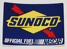 Lot of 10 Sunoco Official Fuel of Nascar Stickers