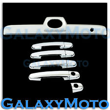 03-09 Toyota 4 Runner Chrome 4 Door Handle + Rear Hatch Tailgate Trunk Cover
