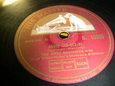 8/3R The Ames Brothers - Addio ( Ah-Dee-o ) - The Naughty Lady Of Shady Lane
