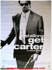 GET CARTER Affiche Cinéma Pliée 160x120 Movie Poster SYLVESTER STALLONE