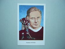 1983 1983/84 CARTOPHILIUM NHL HOCKEY HALL OF FAME POSTCARD B9 FRANK PATRICK NM