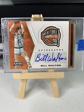 2019-20 PANINI CHRONICLES BILL WALTON PLAYOFF HALL OF FAME RED AUTO CELTICS💎📈