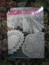 Crochet treasures 35 pattern book by Ondori for table cloth,doilies,piano cover