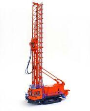 TWH 022-01023 Bucyrus 49HR Blasthole Drill - Orange / Blue 1/50 O scale MIB