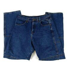 Draggin Jeans Mens Denim Kevlar Padded Size 32 X 32 Made In USA