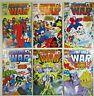 The Infinity War Complete Set 1 2 3 4 5 6 (Marvel 1992) Thanos Endgame